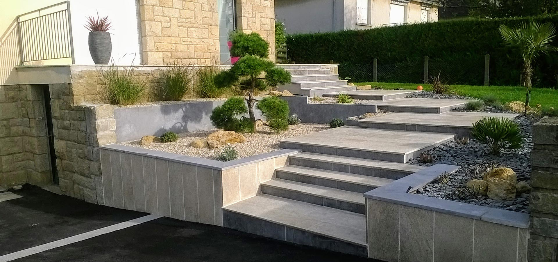 Aménagement de jardin à Rennes